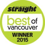 Georgia Straight Best of Vancouver 2015 Award