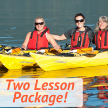 2 pack sea kayaking basics package