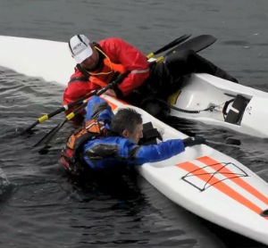 Surfski lesson remount