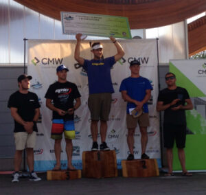 Podium of Canadian Surfski Champs 2015