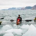 The Svalbard paddling team