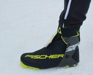 Fischer Speedmax boot on