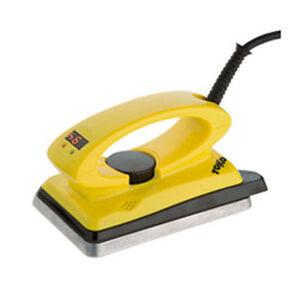 Digital iron for cross country ski waxing