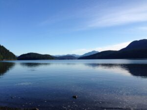 Put in at Okeover Inlet