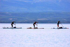SUPs on the Yukon River