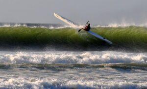 Surfski storm