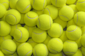 Tennis balls for resistance training