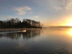 Sunrise at Burnaby Lake