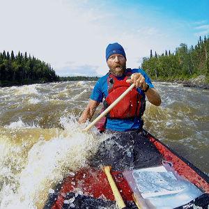 Frank Wolf canoe explorer