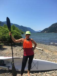 Gorge surfski paddle