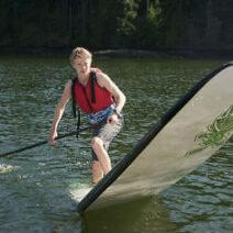 DART stand up paddle board team skills
