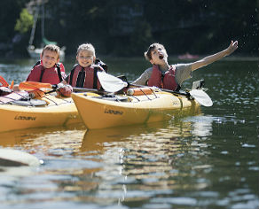 Kayak Kids Camp