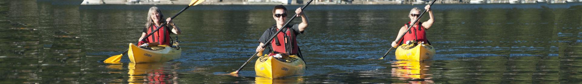 Kayak Rentals in Deep Cove