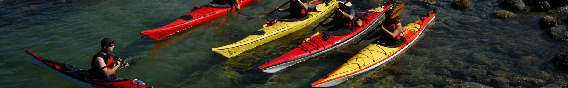 Package of kayak lessons from Deep Cove