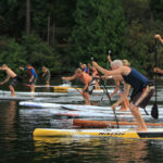 Stand up paddleboards racing