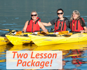 2 pack sea kayaking basics package