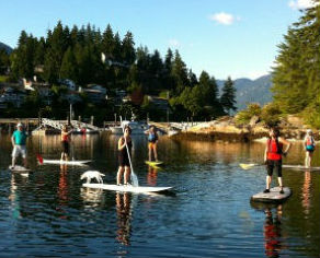 Social SUP group paddle