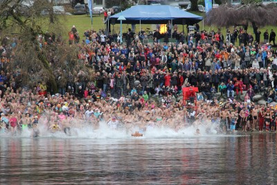 Start of the Penguin Plunge