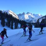 BC Nordic Ski Team in Europe