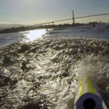 Surfski Ambleside lesson