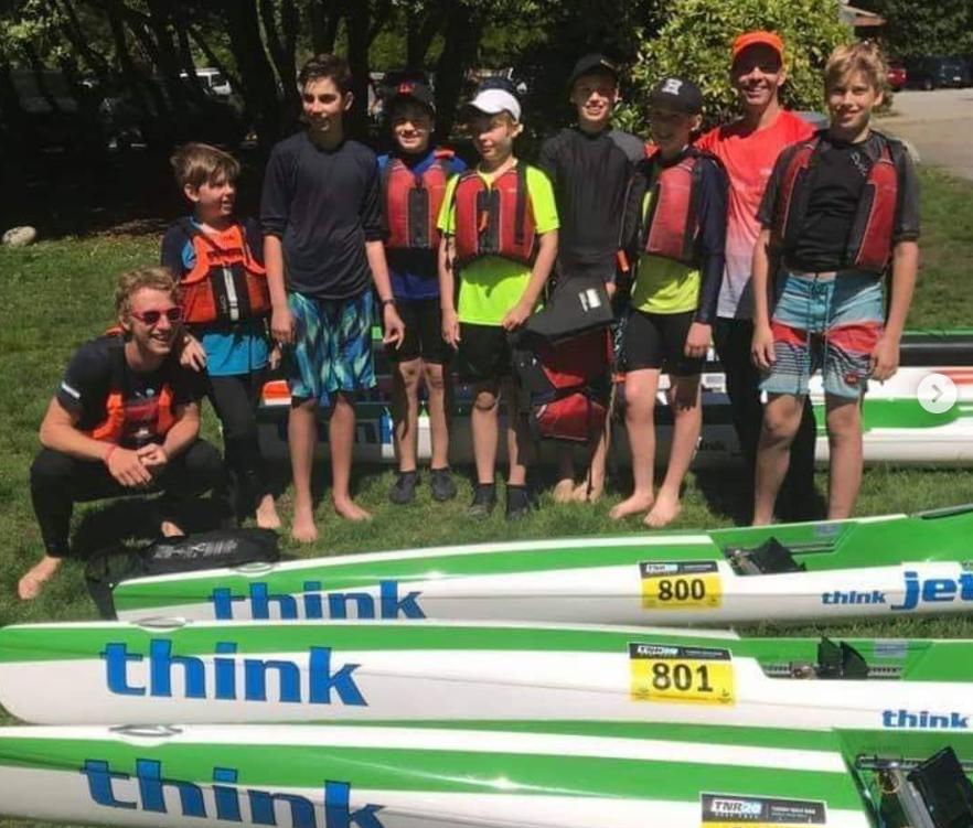 Kids Surfski Camps