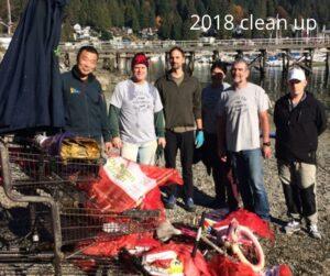 Deep Cove Dive Clean Up