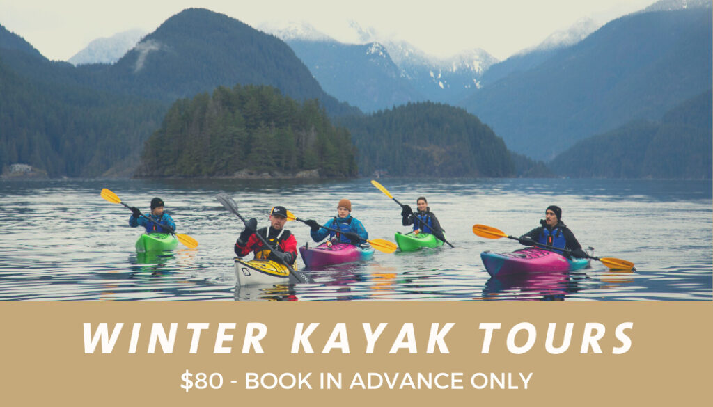 Winter Kayak Tours