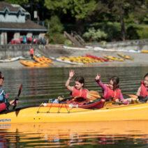 Kids Kayak Pods