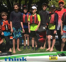 Surfski Kids Camp DCK