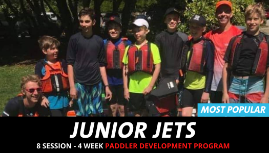 Junior Jets Surfski