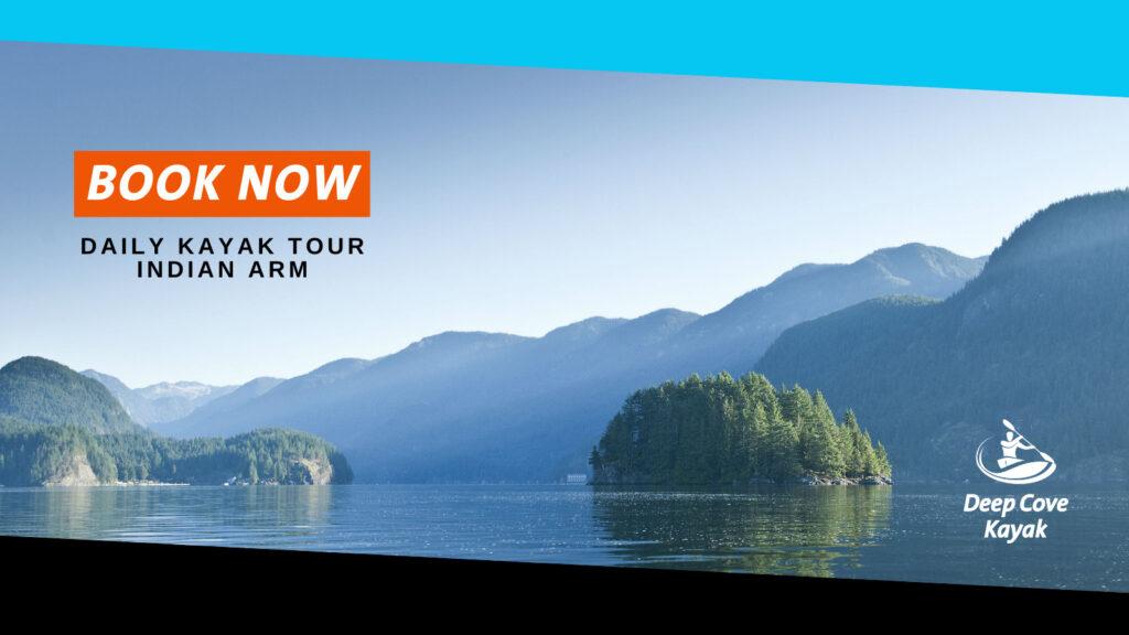 DAILY KAYAK TOURS 1-4PM Deep Cove Kayak