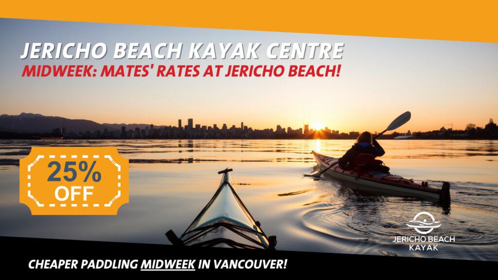 Jericho Beach Kayak